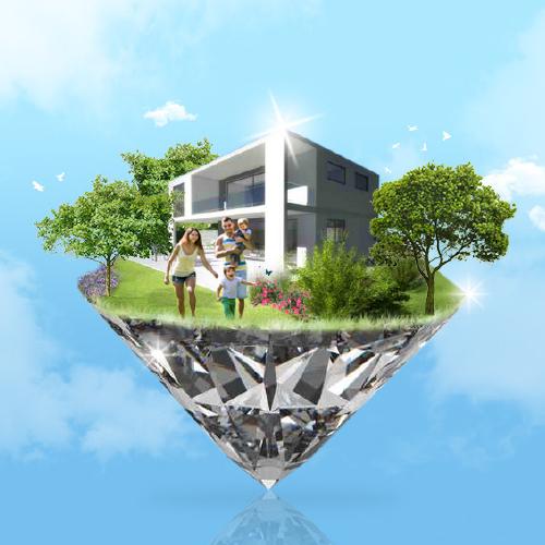 Affiche Salon national de l'immobilier