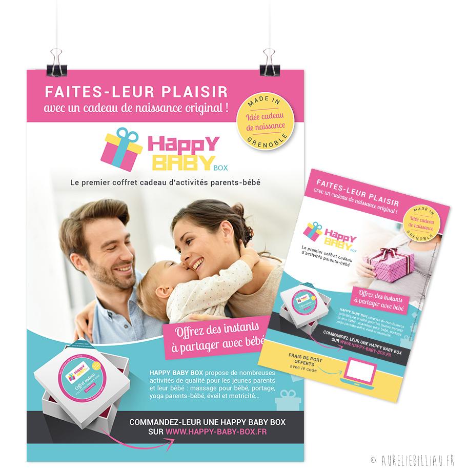 Affichage Happy Baby box