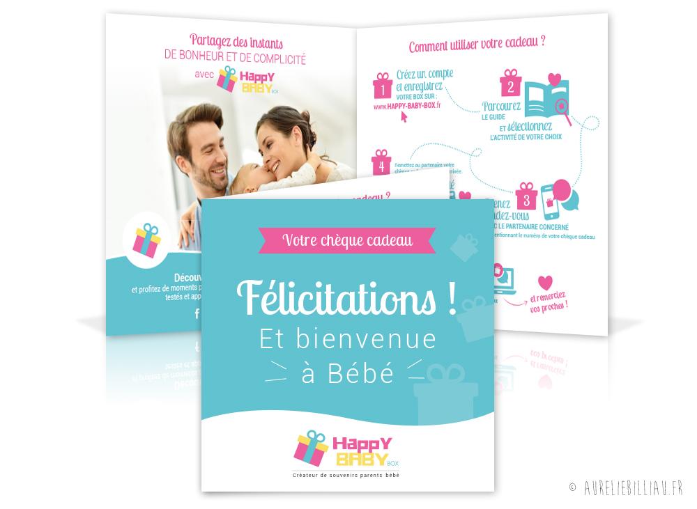 Chèque cadeau Happy Baby box