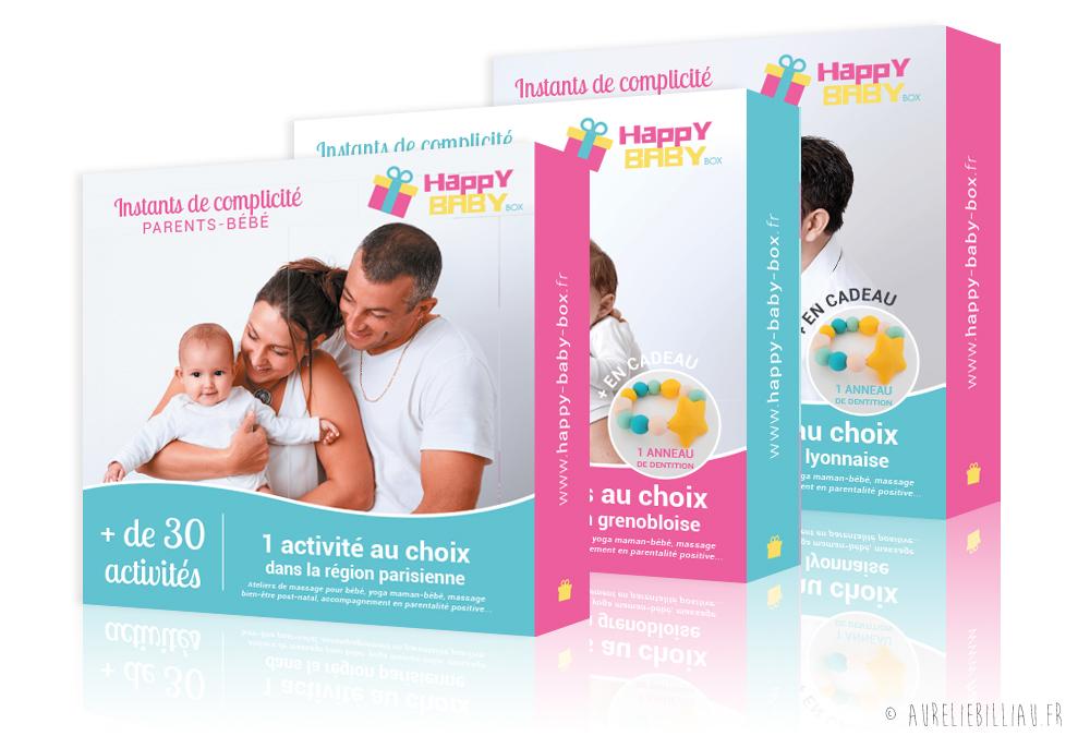 Fourreaux Happy Baby box