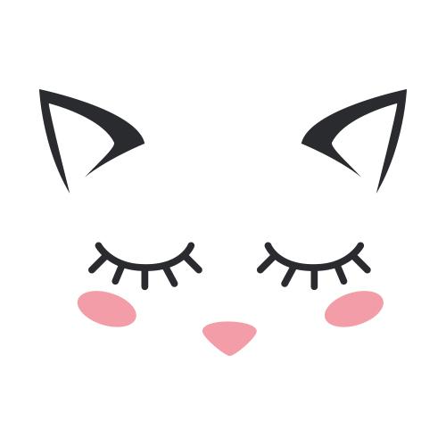 Affiche Cute cat