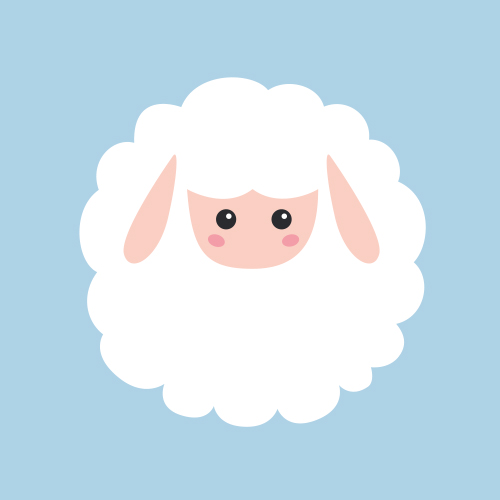 Affiche Sweet sheep