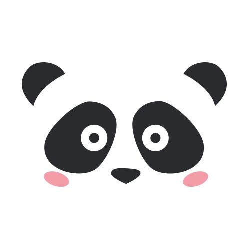 Affiche Cute panda
