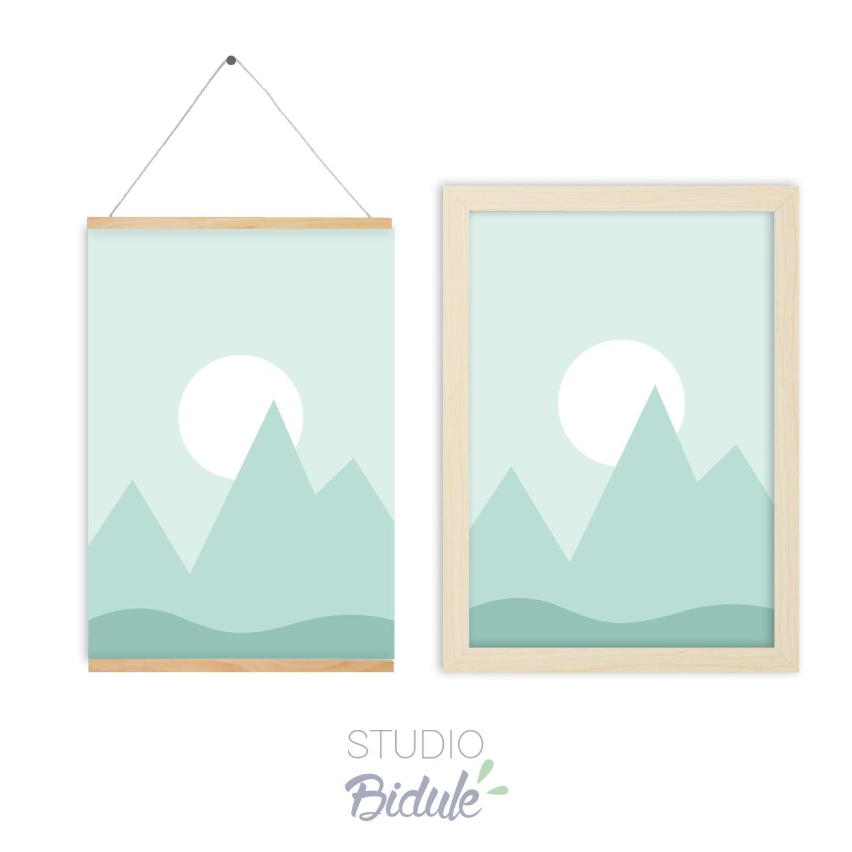 Affiche Magic Mountains