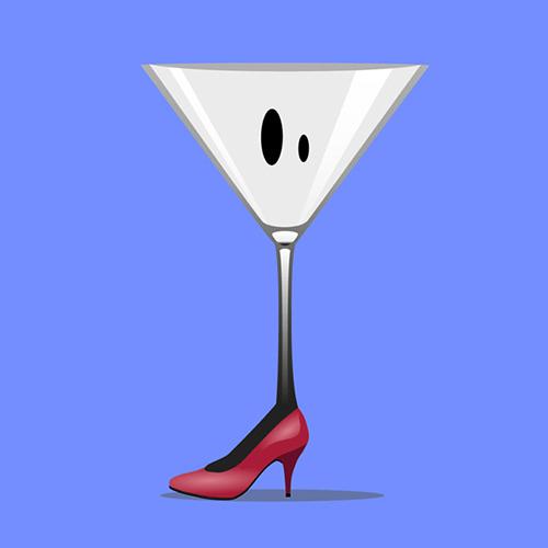 Un verre à pied