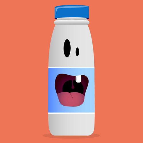 Une dent de lait