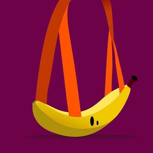 Un sac banane