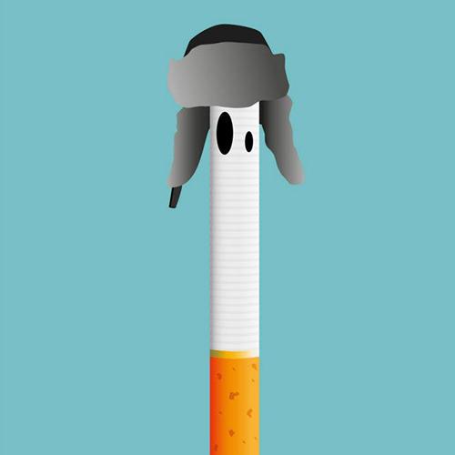 Une cigarette russe