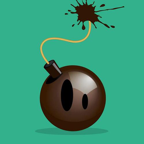 Une bombe au chocolat