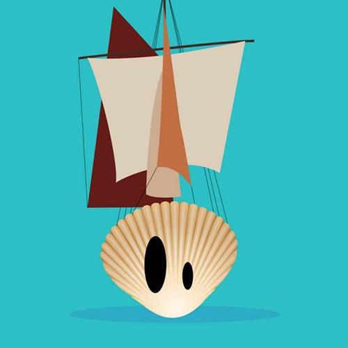 Une coque de bateau