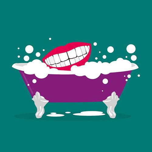 Un bain de bouche