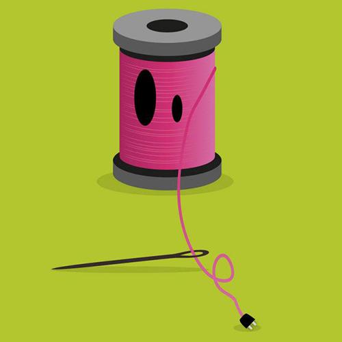 Un fil électrique