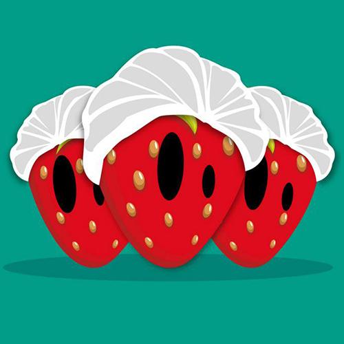 Des charlottes aux fraises