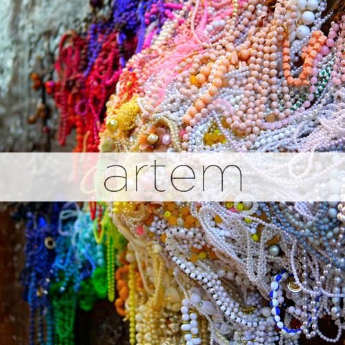 Dépliant Galerie Artem