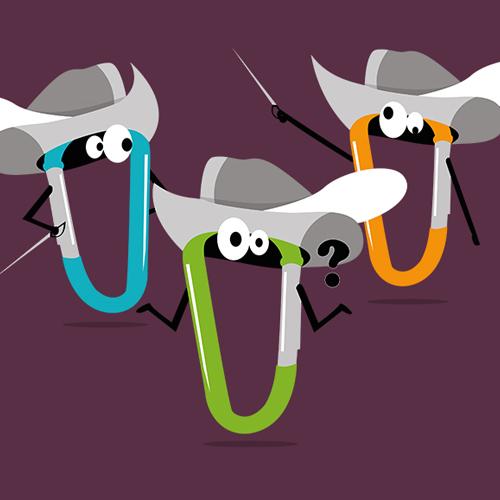 Design Les 3 Mousquetons