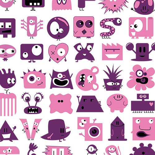 Design Pink Monsterz