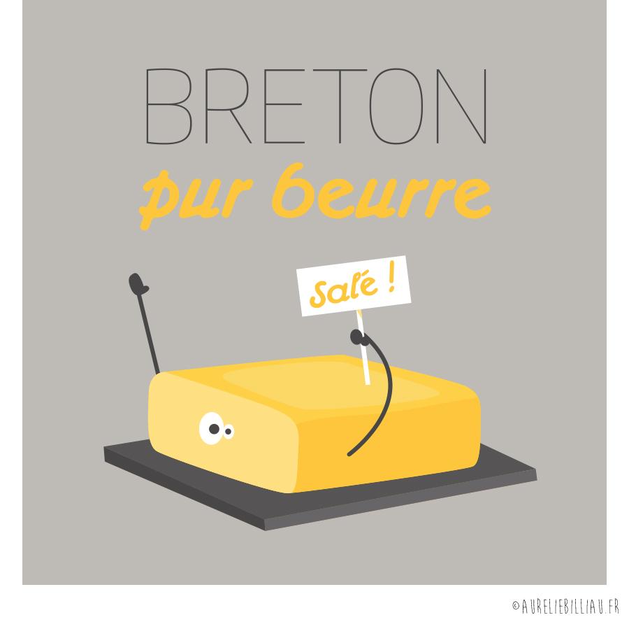 Design Breton pur beurre
