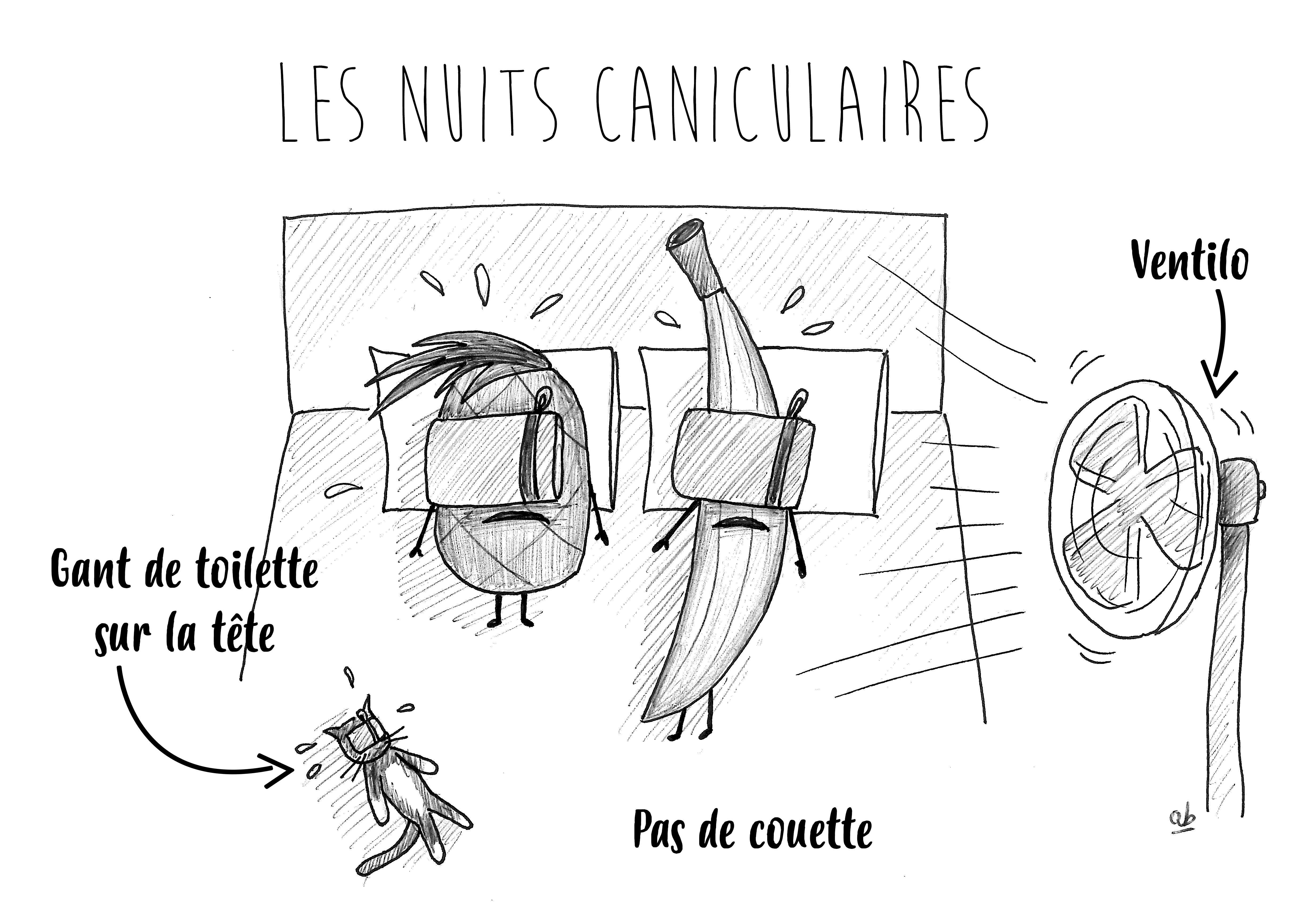 Les nuits caniculaires