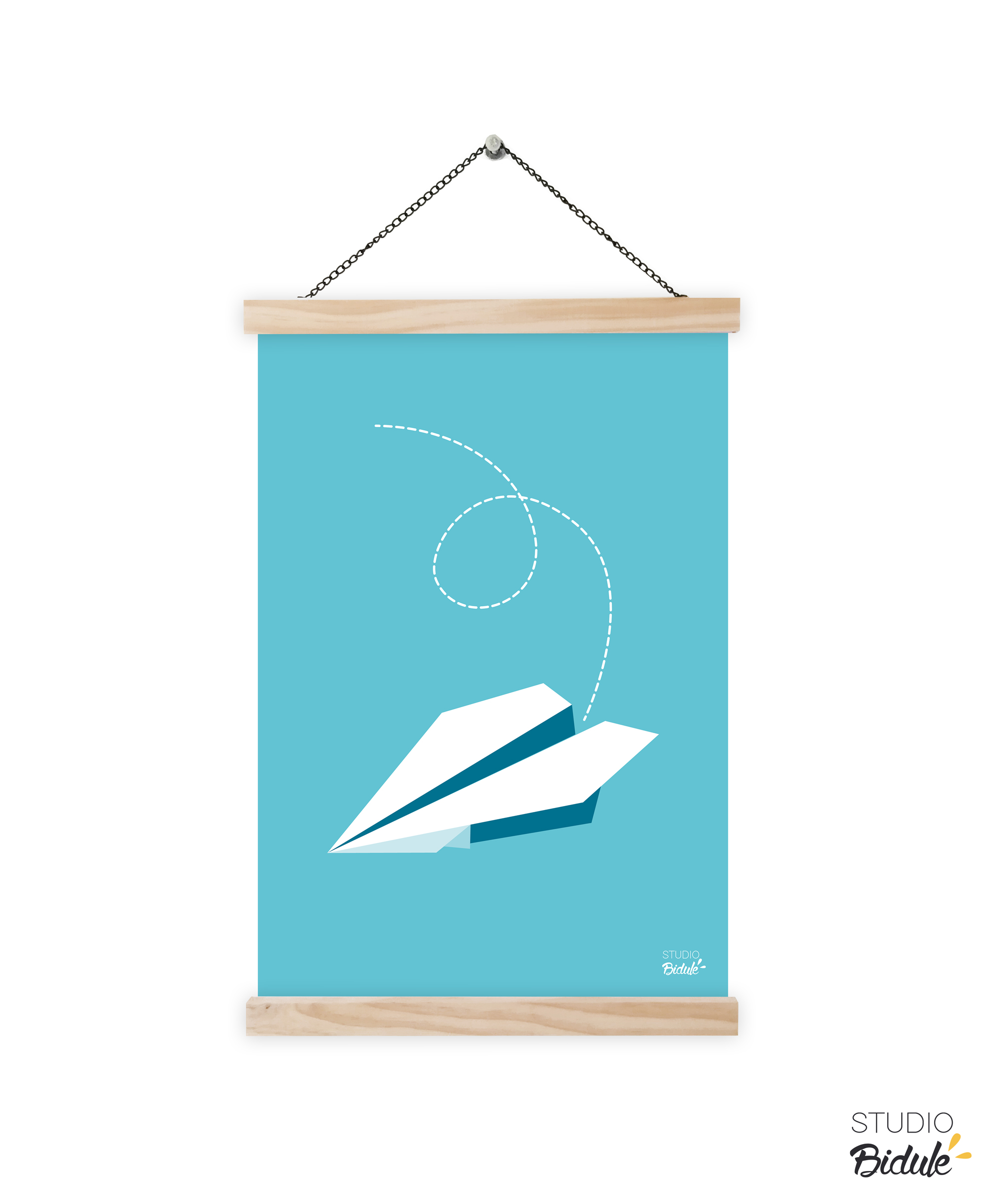 Affiche Paper Plane