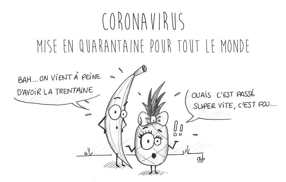 Coronavirus : Bonjour la quarantaine