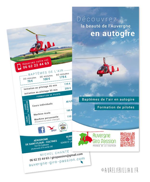 Flyer Auvergne Giro Passion
