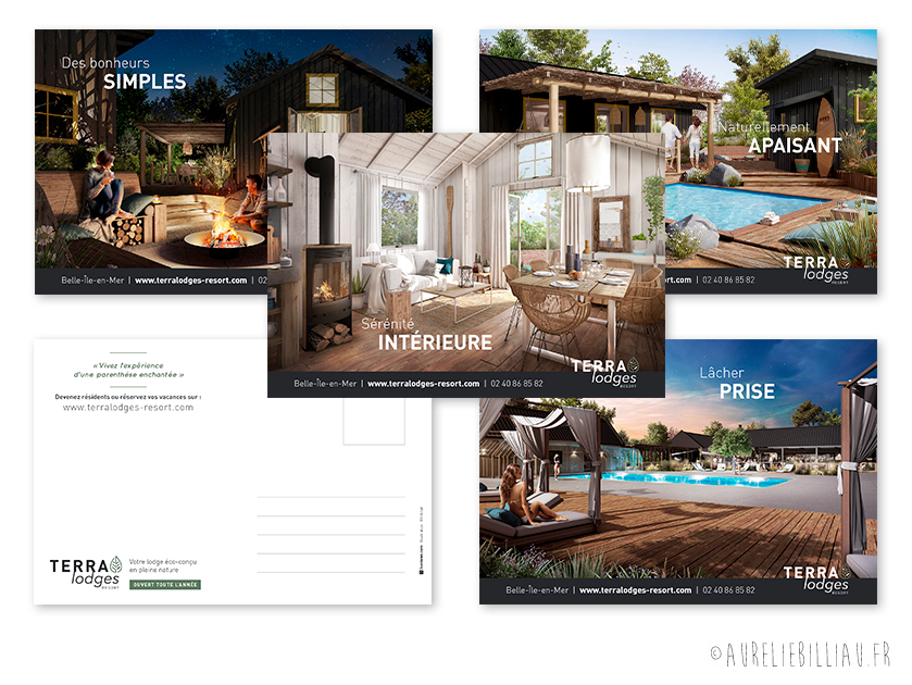 Cartes postales Terra Lodges Resort