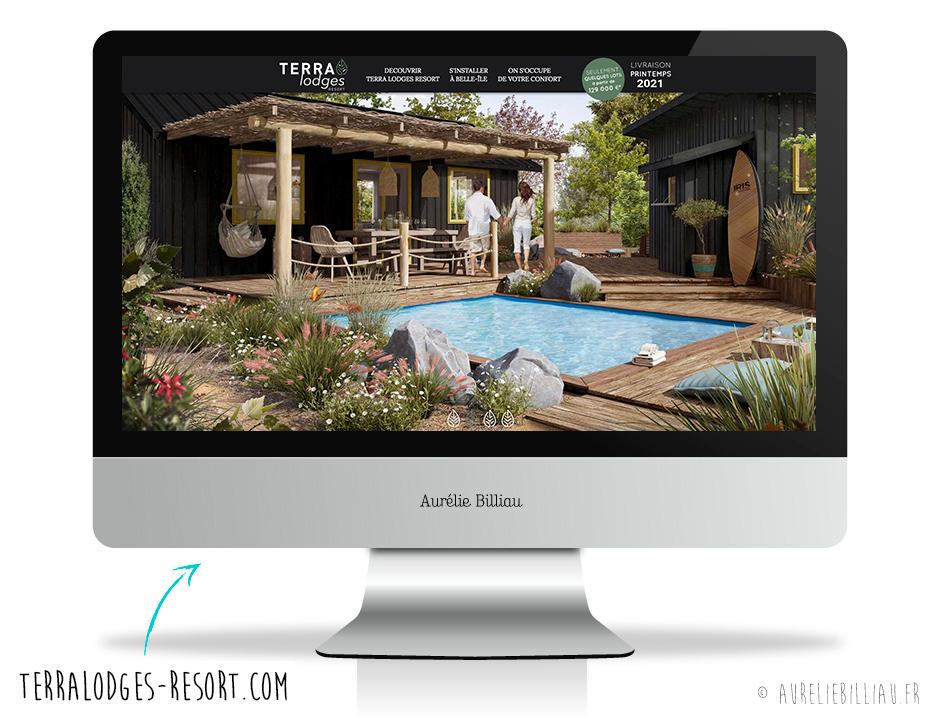 Webdesign Terra Lodges Resort