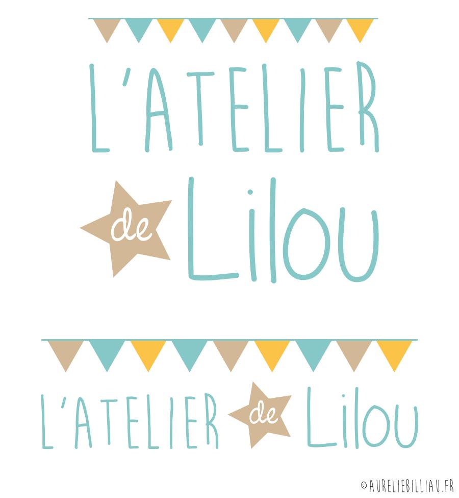 Logotype L'Atelier de Lilou