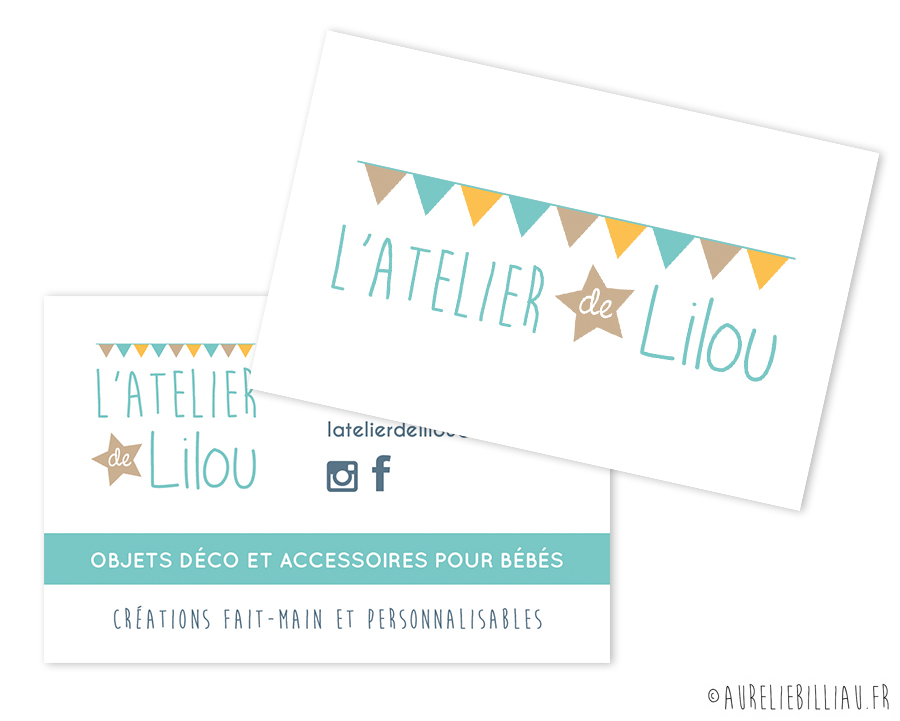 Carte de visite L'Atelier de Lilou