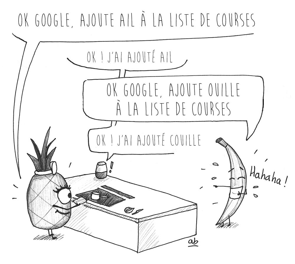 Aïe ! Ouille ! Quand ta Google Home dérape !