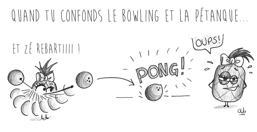 Bowling ou pétanque ?