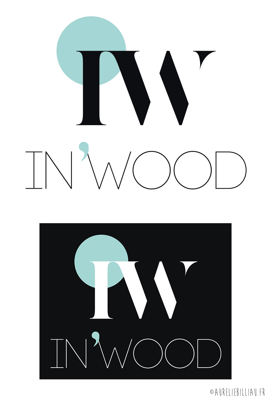 Logotype In'Wood
